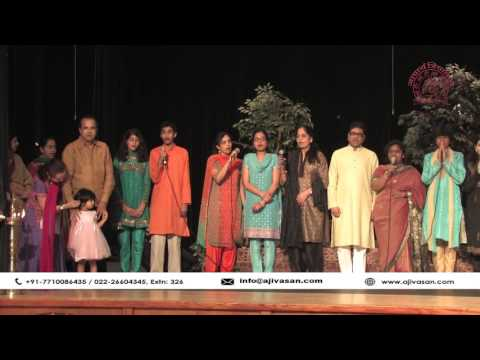 Suresh Wadkar's Ajivasan Music Academy USA Annual Recital 2011   Saraswati Vandana