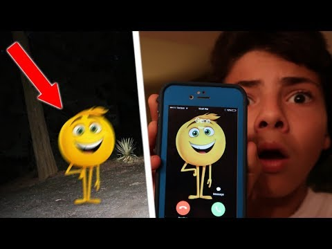 CALLING GENE THE EMOJI GONE WRONG!! *HE COMES TO MY HOUSE*