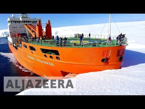 Gigantic Antarctica glacier melting at alarming rate