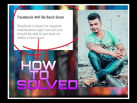 Facebook will be back soon meaning in urdu