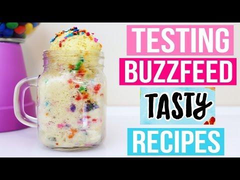TASTY BUZZFEED RECIPES TESTED #3