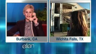 Ellen's Swaggin' Wagon Surprises a Couple