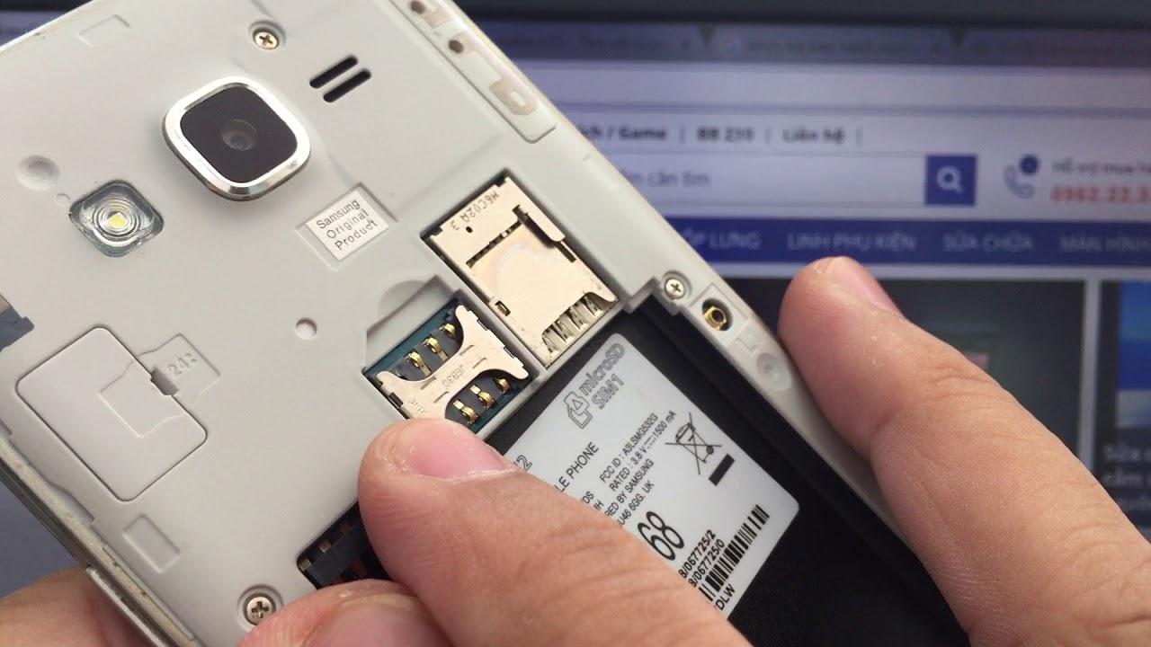 Khay Sim Samsung Galaxy J2 Prime G532 Sửa Lỗi Không Nhận Sim Lấy Ngay LH: 024.66750.999