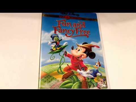 Walt Disney * Fun and Fancy Free * Animated Cartoon * DVD Movie Collection