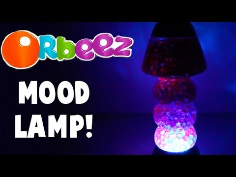 Orbeez Mood Lamp! Color Changing Mood Light! Easy DIY!
