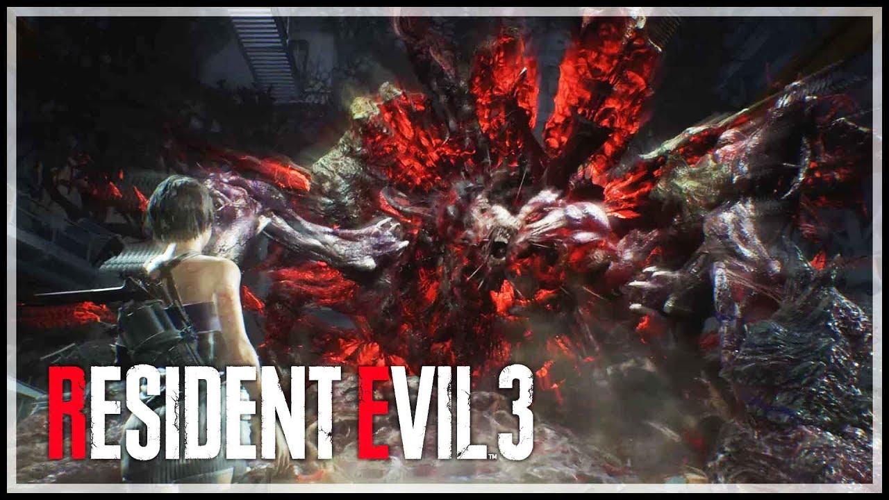 resident evil 3 remake nemesis 3rd form