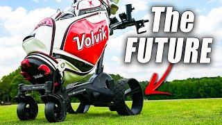 The New MGI Zip Navigator AT - Electric Golf Push Cart