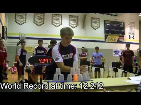 Sport Stacking: Scratched and Disqualified World Records | Star Stacks Inc