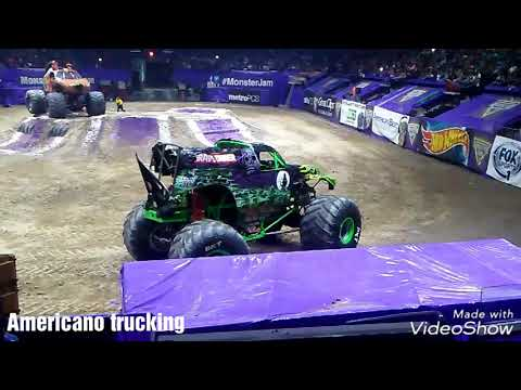 Monster jam 2018 Hidalgo tx