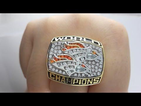 Denver Broncos 1998 Super Bowl Ring Replica for sale