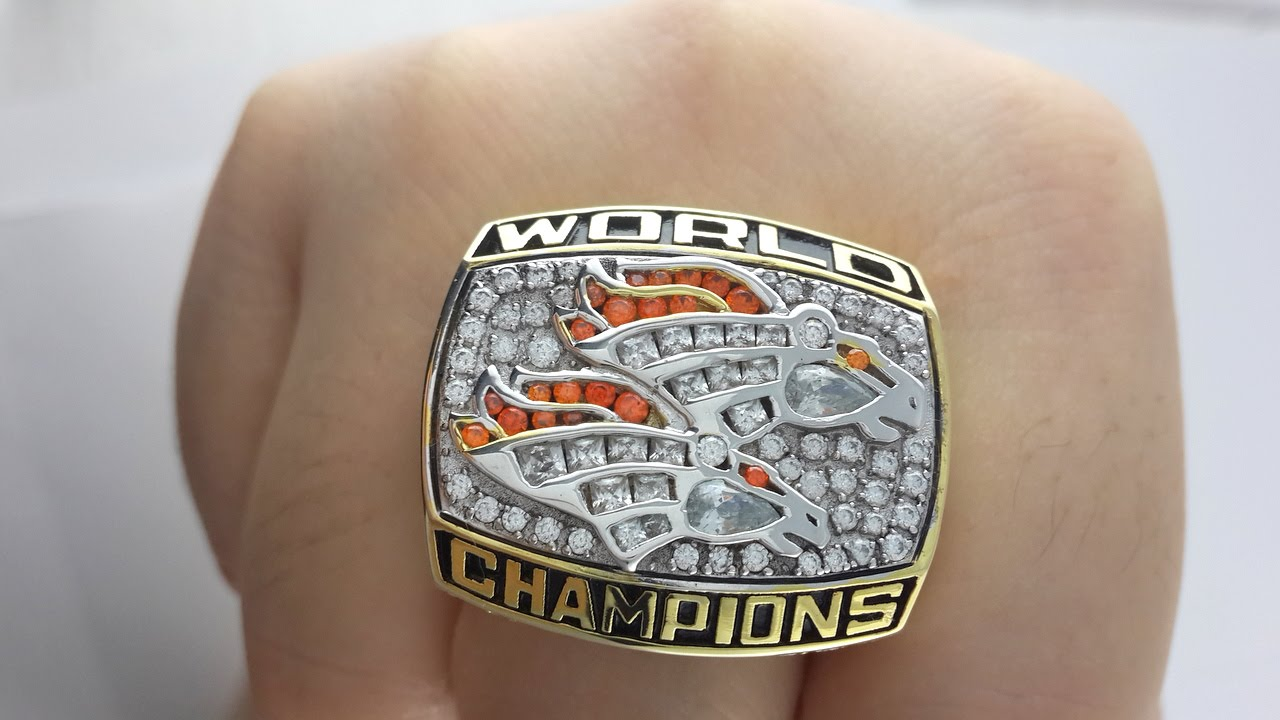 Denver Broncos Super Bowl Ring Replica