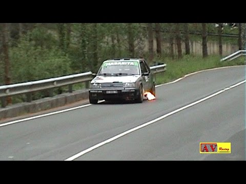 Peugeot 309 Gti   Amazing Sound   Ánder Arana - Rallye Lea Artibai 2015