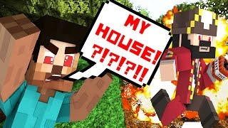 my house minecraft trolling griefing
