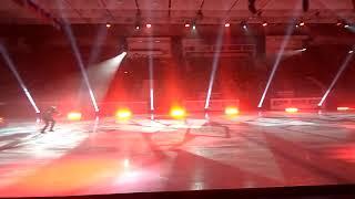 Ледовое шоу Ильи Авербуха в Новосибирске, выступление Евгения Кузнецова