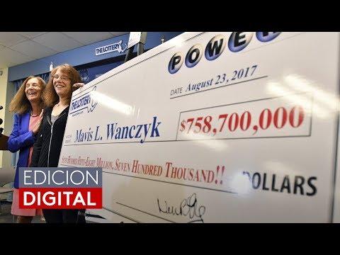 """""""Ya renuncié a mi trabajo"""": Ganadora del Powerball con el segundo mayor premio en la historia"""