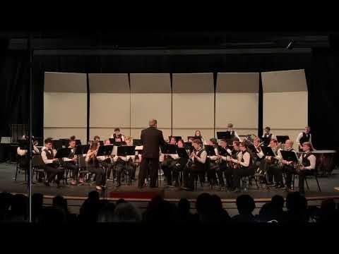 Curtis Senior High School Wind Ensemble Plays - Abram's Pursuit