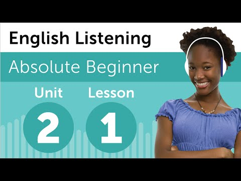 English Listening Comprehension - Seeing a Movie in the U.S.A