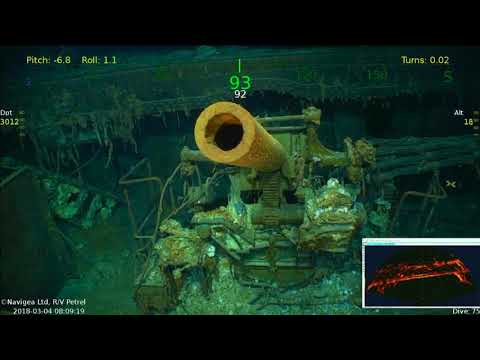 Rediscovered US Carrier Sank in Historic WWII Duel