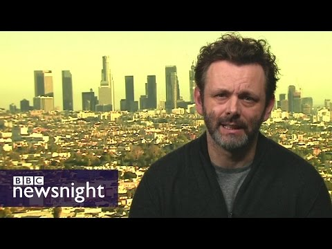 Michael Sheen v Anna Soubry on jobs in steel - BBC Newsnight