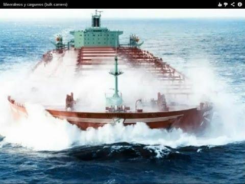 Mineraleros y cargueros. Bulk carriers