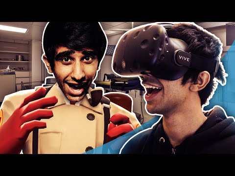 SURGEON SIMULATOR VR! - VIRTUAL REALITY on HTC VIVE