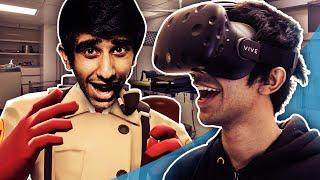 SURGEON SIMULATOR VR! - VIRTUAL REALITY on HTC VIVE