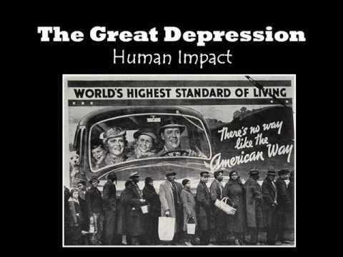 impact on great depression The great depression of 1929 had a very severe impact on india, which was then under the rule of the british raj the government of british india adopted a protective trade policy which, though beneficial to the united kingdom, caused great dama.