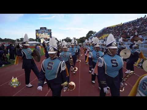 Southern University Human Jukebox 2018 Marching In vs. UAPB