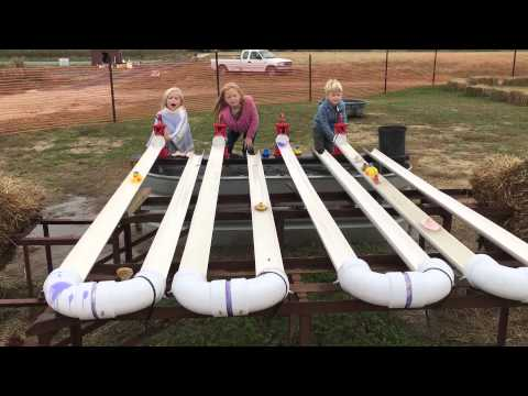 Boat races at Cullipher Farms 10-2015