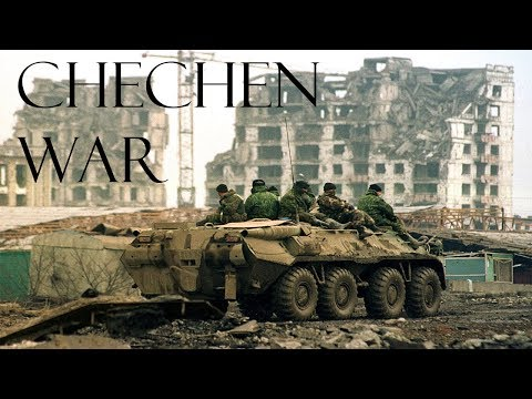 First Chechen War - Real war footage