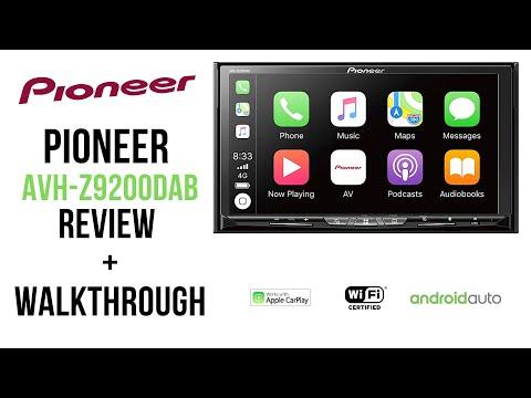 Pioneer AVH-Z9200DAB Full Review / Walkthrough