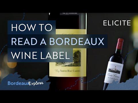 How To Read & Pronounce A Bordeaux Wine Label