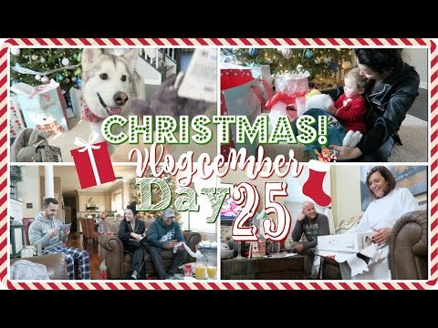 Christmas Day! Opening Presents!🎅🎄Vlogcember Day 25, 2017