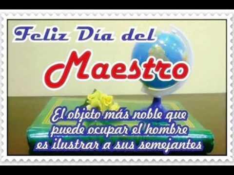 HIMNO AL MAESTRO DE EL SALVADOR