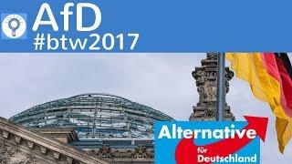 AfD - Ziele & Wahlprogramm (Auszug) - Bundestagwahl 2017 #btw2017