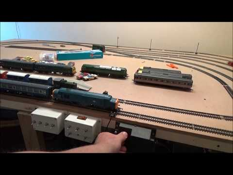 New Train Teaser. Hornby OO Gauge Class 37 With 4 InterCity Coaches.