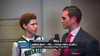 "LaMelo Ball ""I have a bright future"" Then 13 year-old receives a basketball offer from UCLA"