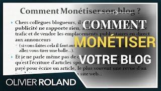 Comment gagner de l'argent avec votre blog 1/2 (Un blog qui rapporte, 6/7)