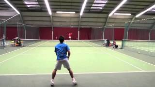 College Tennis Recruiting Video - Alex Sourry