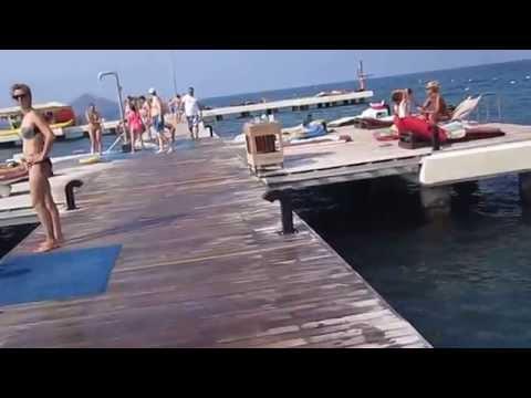 Турция Фетхие обзор отеля majesty club tuana park Turkey 2015 отдых в турции 5 звезд