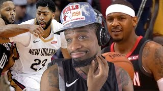 WOW THIS CAUGHT ME WAY OFF GUARD.. ROCKETS vs PELICANS SEASON OPENER HIGHLIGHTS!