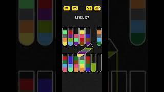 water sort puzzle level 107 screenshot 5