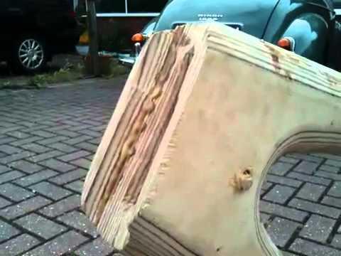wooden bike frame progress - Wooden Bike Frame