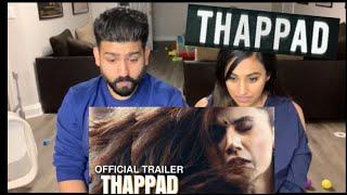 Thapad Trailer Reaction | Tapsee Panuu, Anubhav Sinha | RajDeepLive