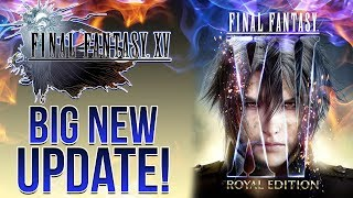 Final Fantasy 15 ROYAL EDITION - NEW CONTENT, EXPANDED INSOMNIA, PC RELEASE DATE