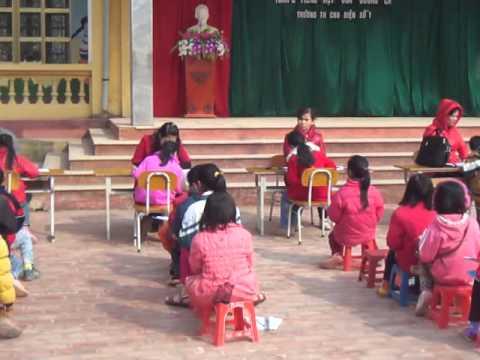 Giao lưu Toán - Tiếng Việt của chúng em (Trường TH Chu Điện1)