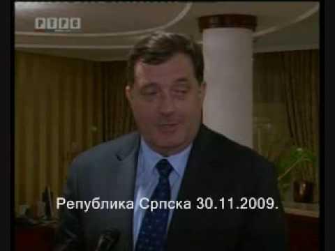 Dodik Djokovic Troicki Republika Srpska 30.11.2009. †