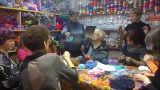 МК Вязание на вилке