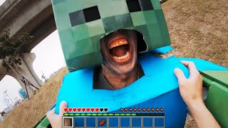 Download Minecraft Real POV 創世神第一人稱真人版 Mp3 and Videos