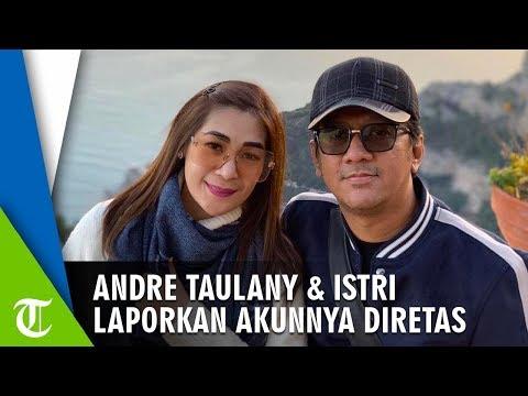 Andre Taulany dan Istrinya, Erin Taulany Datangi Polda Metro Jaya, Laporkan Akunnya Diretas